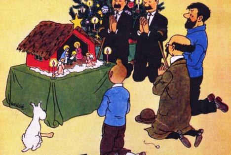 Tintin et Noël