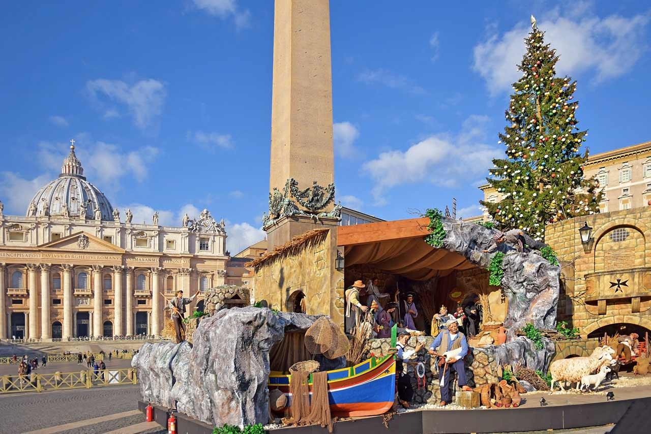 Le sens de la crèche de Noël, pour le pape François ? La