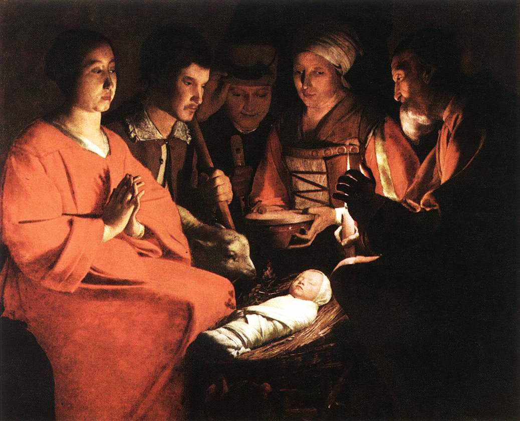 L'Adoration des Bergers par Georges de La Tour (1593-1652)