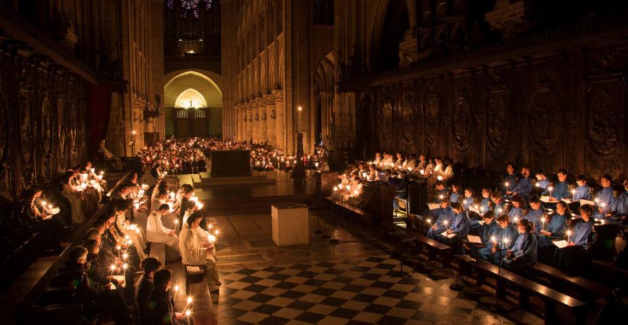 Messe de minuit à Notre-Dame-de-Paris
