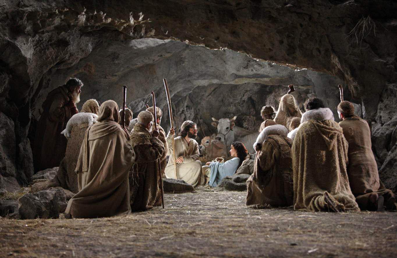 Où est Jésus est-il né ? Dans une étable de Bethléem !